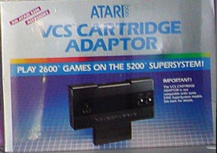 """ATARI 5200: """"El primer tropiezo de Atari"""" Atari-5200-2600-cart-adaptor"""