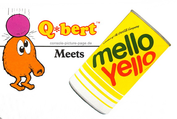 1000 images about Favorite Sodas on Pinterest Mountain  : q bert meets mellow yellow coca cola from www.pinterest.com size 573 x 385 jpeg 70kB